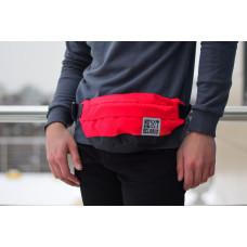 Поясная сумка (барсетка) Next красно-черная