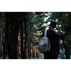 Рюкзак NEXT серый+темно синий низ