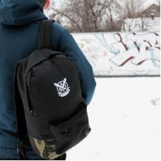 Рюкзак NEXT черный+камуфляж низ