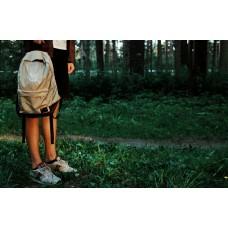 Рюкзак NEXT бежевый+коричневый низ