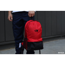 Рюкзак TNF черный+красный (вышивка)